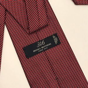 Brooks Brothers 346 Tie- 100% Silk